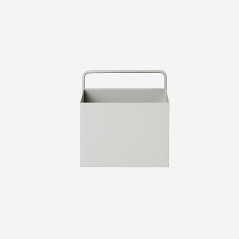 Ferm Living - Ferm Living Wall Box Square Light Grey - Wall Shelf  SIMPLE FORM.