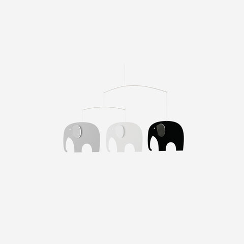 Flensted - Mobile Elephant Party - Mobile  SIMPLE FORM.