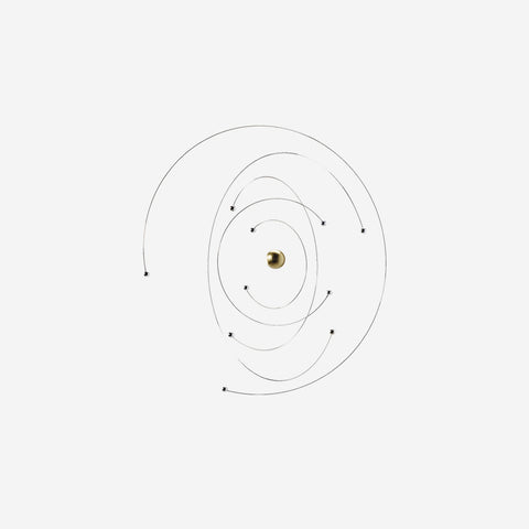 SIMPLE FORM. - Flensted - Mobile Niels Bohr Atom Model 441 - Mobile