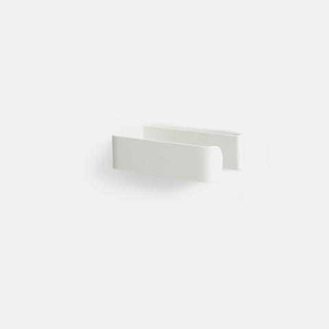 Made of Tomorrow - Fold Toilet Roll Holder White v.2 - Toilet Paper Holder  SIMPLE FORM.