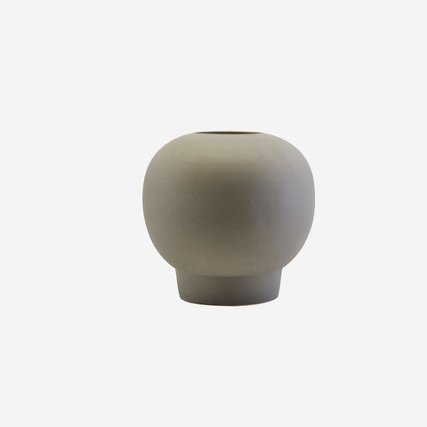 SIMPLE FORM. - House Doctor - Bobble Vase Dark Grey - Vase