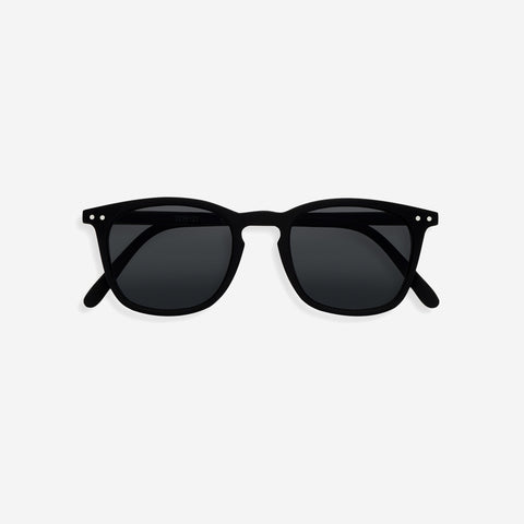 SIMPLE FORM. - IZIPIZI - Sunglasses Adult #E Trapeze Black - Sunglasses