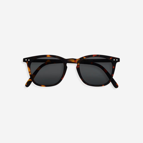 SIMPLE FORM. - IZIPIZI - Sunglasses Adult #E Dark Tortoise - Sunglasses