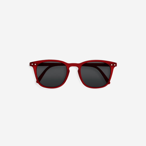 SIMPLE FORM. - IZIPIZI - Sunglasses Junior E Red - Sunglasses