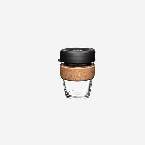 SIMPLE FORM. - KeepCup - Brew Cork Coffee Cup Medium Black - Coffee Cup