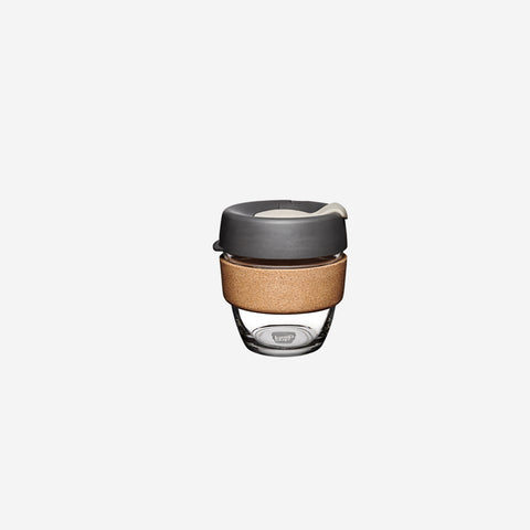 SIMPLE FORM. - KeepCup - Brew Cork Coffee Cup Small Press - Coffee Cup