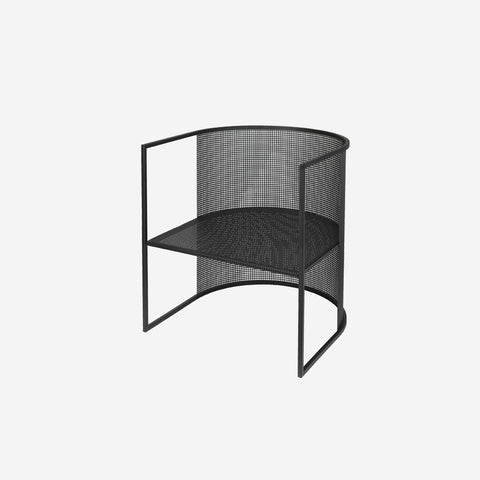 Kristina Dam - Kristina Dam Bauhaus Lounge Chair Black - Sculptures  SIMPLE FORM.