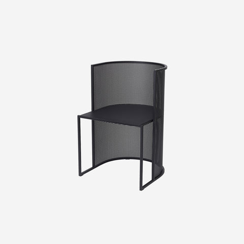 Kristina Dam - Kristina Dam Bauhaus Dining Chair Black - Sculptures  SIMPLE FORM.