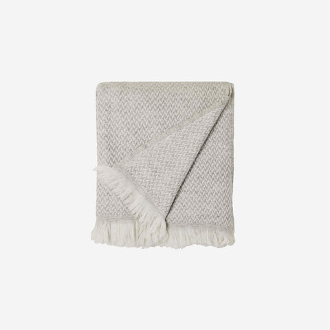 SIMPLE FORM. - LM Home - Copenhagen Cashmere Throw Silver - Throw