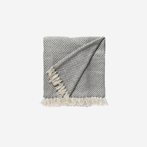 LM Home - Copenhagen Cashmere Throw Smoke - Throw  SIMPLE FORM.