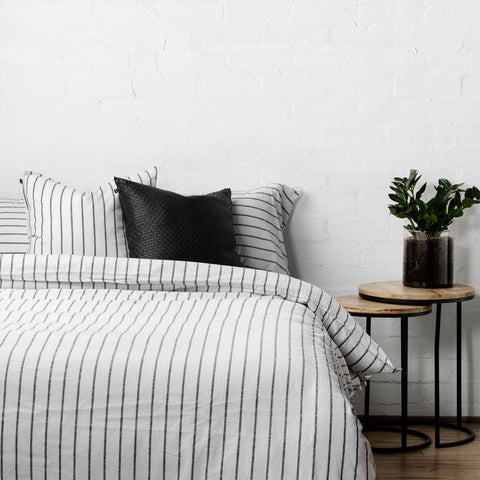 SIMPLE FORM. - LM Home - Loft Striped Duvet Cover Set - Bedding