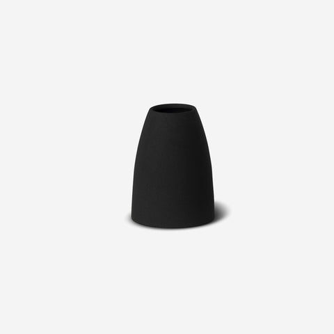 LM Home - Mona Cone Vase Black - Vase  SIMPLE FORM.