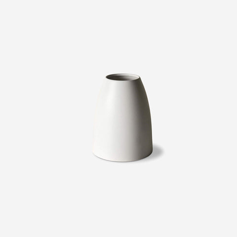 LM Home - Mona Cone Vase Chalk - Vase  SIMPLE FORM.