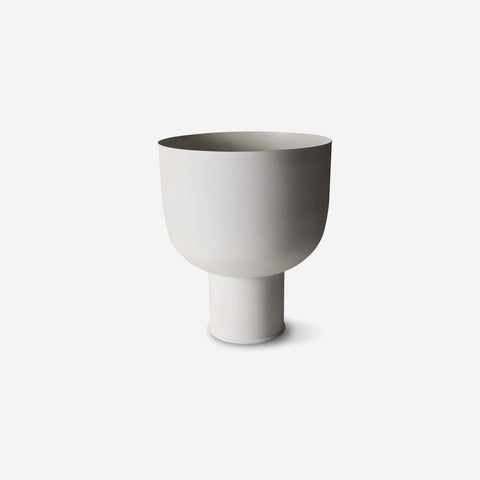 SIMPLE FORM. - LM Home - Mona Curve Planter Large Chalk - Planter