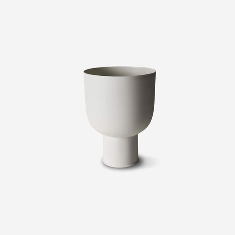 SIMPLE FORM. - LM Home - Mona Curve Planter Small Chalk - Planter