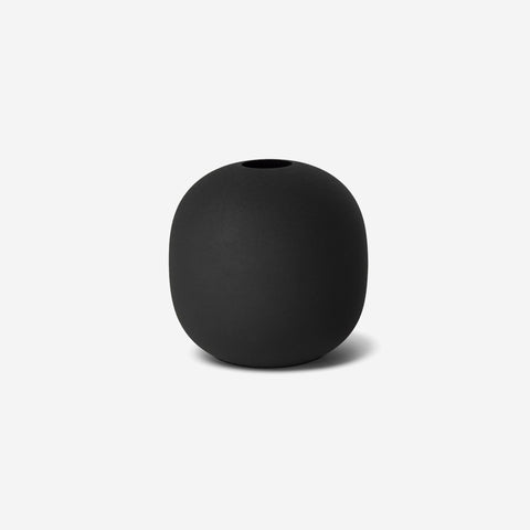 LM Home - Mona Globe Vase Black - Vase  SIMPLE FORM.