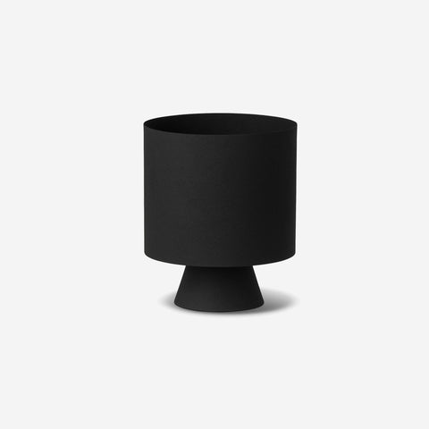 LM Home - Mona Planter Large Black - Planter  SIMPLE FORM.