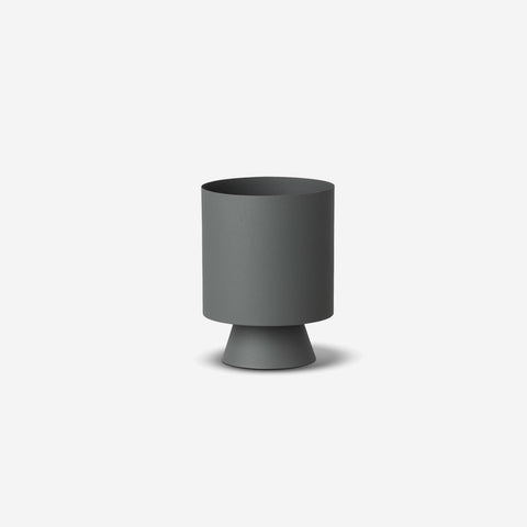 SIMPLE FORM. - LM Home - Mona Planter Small Grey - Planter