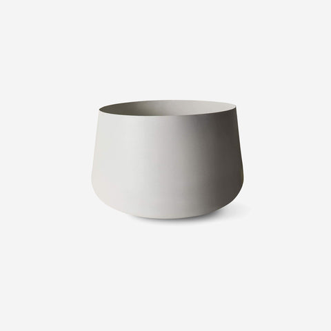 LM Home - Mona Pot Chalk - Planter  SIMPLE FORM.