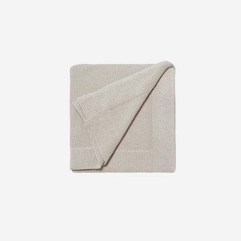 LM Home - LM Home Nico Blanket Bone Beige - Throw  SIMPLE FORM.