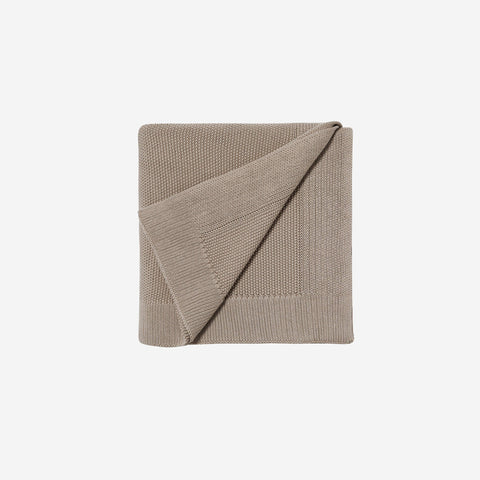 LM Home - LM Home Nico Blanket Latte Brown - Throw  SIMPLE FORM.