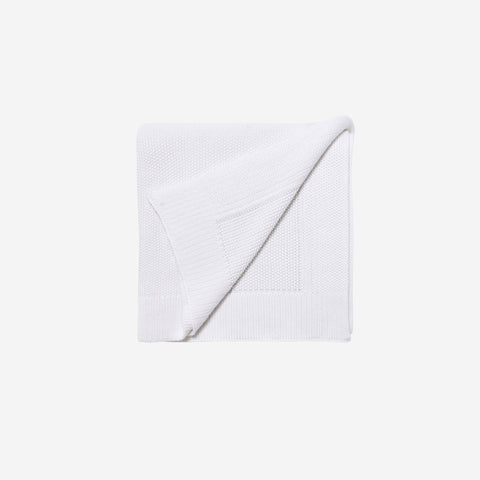 LM Home - LM Home Nico Blanket White - Throw  SIMPLE FORM.