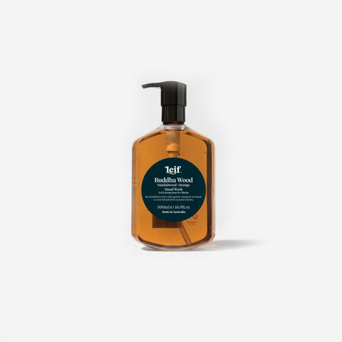 SIMPLE FORM. - Leif - Buddha Wood Hand Wash 500ml by Leif - Bodycare
