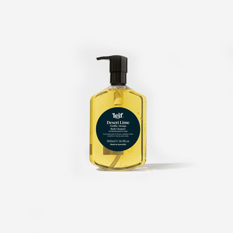 SIMPLE FORM. - Leif - Desert Lime Body Cleanser 500ml by Leif - Bodycare