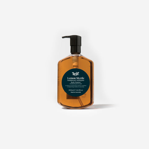 Leif - Lemon Myrtle Body Cleanser 500ml by Leif - Bodycare  SIMPLE FORM.