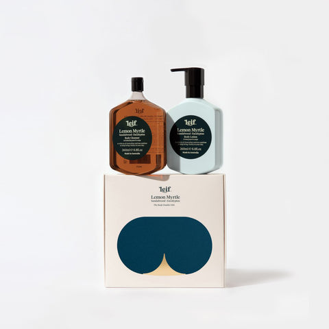 Leif - Leif Lemon Myrtle Body Set Small - Bodycare  SIMPLE FORM.