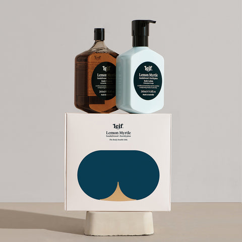 SIMPLE FORM. - Leif - Lemon Myrtle Body Set Small by Leif - Bodycare