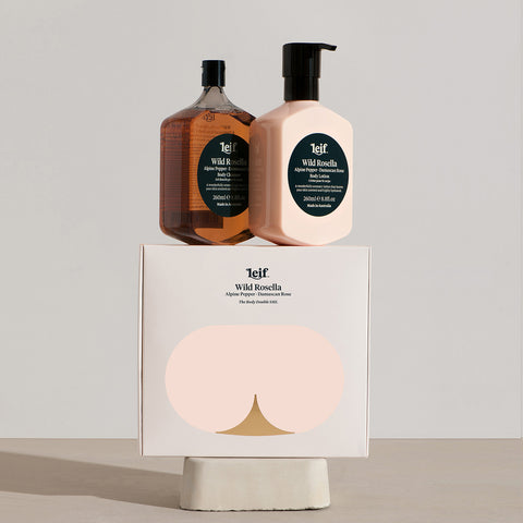 SIMPLE FORM. - Leif - Wild Rosella Body Set Small by Leif - Bodycare