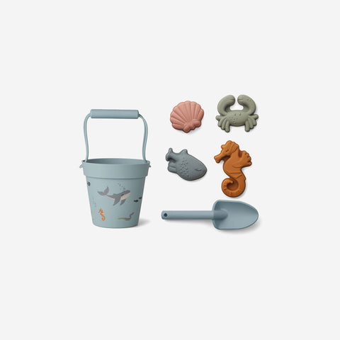Liewood - Liewood Dante Beach Set Sea Creatures - Children's Play  SIMPLE FORM.