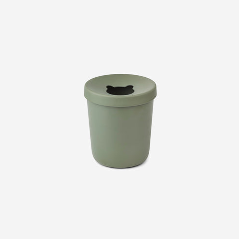 Liewood - Liewood Evelina Trash Bin Faune Green - Children's Bin  SIMPLE FORM.