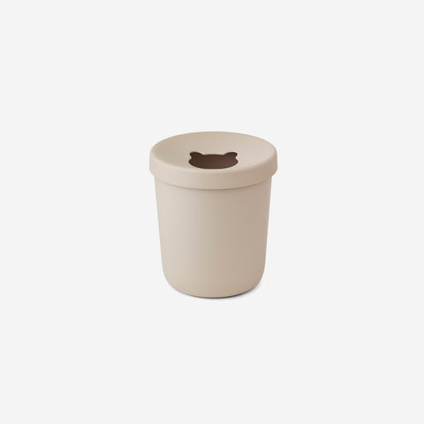 Liewood - Liewood Evelina Trash Bin Sandy - Children's Bin  SIMPLE FORM.