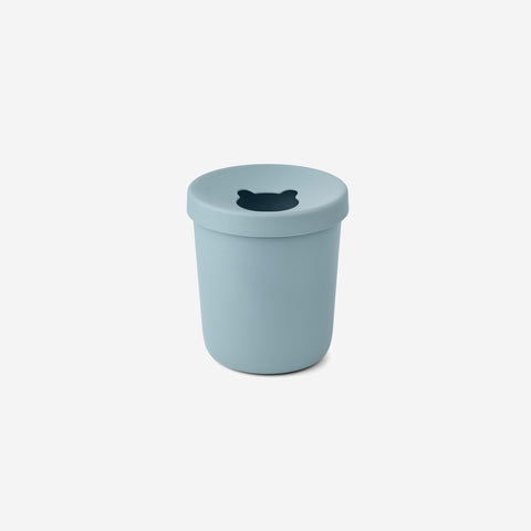 Liewood - Liewood Evelina Trash Bin Sea Blue - Children's Bin  SIMPLE FORM.