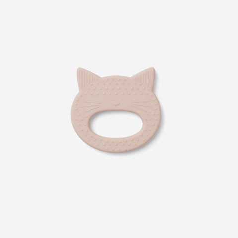 Liewood - Liewood Gemma Teether Cat Rose - Teether  SIMPLE FORM.