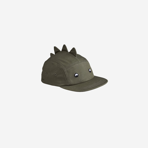 Liewood - Liewood Rory Cap Faune Green Dino - Children's Cap  SIMPLE FORM.