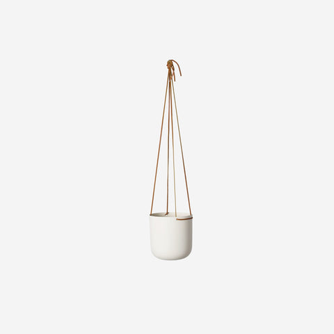 SIMPLE FORM. - Lightly - Hanging Planter Medium White - Planter