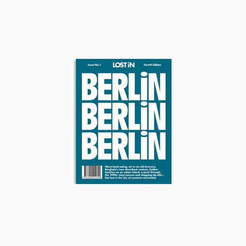 Lost In - Lost In Berlin - Book  SIMPLE FORM.