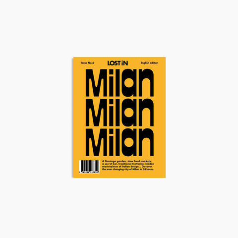 Lost In - Lost In Milan - Book  SIMPLE FORM.