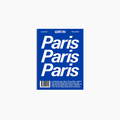 SIMPLE FORM. - Lost In - Lost In Paris - Book