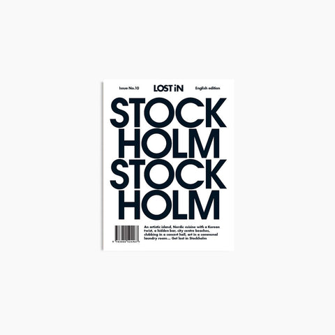 Lost In - Lost In Stockholm - Book  SIMPLE FORM.