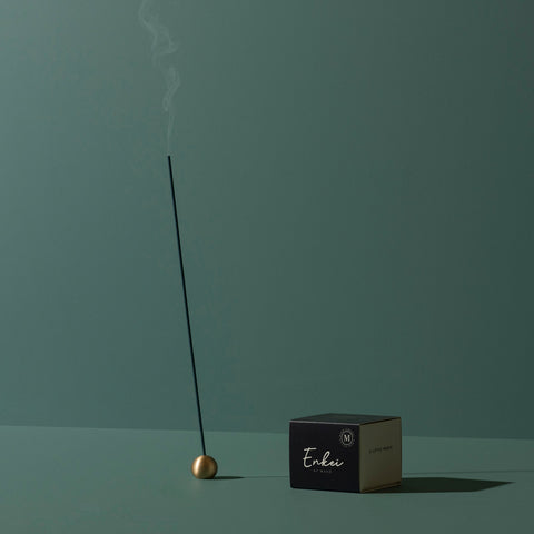 Maho - Maho Enkei Brass Incense Holder - Incense Holder  SIMPLE FORM.