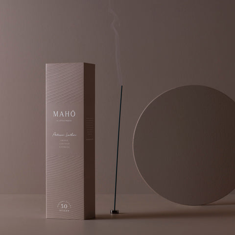 Maho - Maho Sensory Sticks Artisan Leather - Incense Sticks  SIMPLE FORM.