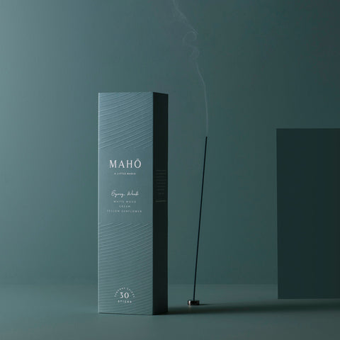 Maho - Maho Sensory Sticks Gypsy Wood - Incense Sticks  SIMPLE FORM.