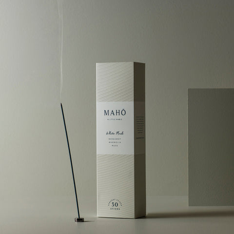 Maho - Maho Sensory Sticks White Musk - Incense Sticks  SIMPLE FORM.