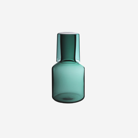 Maison Balzac - Carafe Teal - Carafe  SIMPLE FORM.