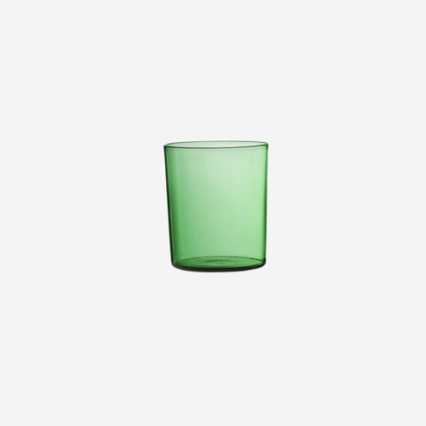Maison Balzac - Glass Cups Green - Cups  SIMPLE FORM.
