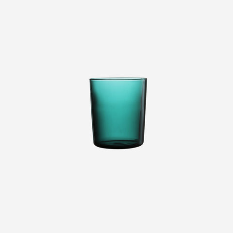 Maison Balzac - Glass Cups Teal - Cups  SIMPLE FORM.